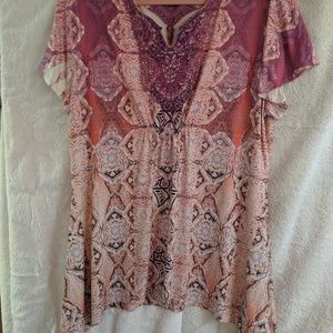 Pretty blouse gently used.